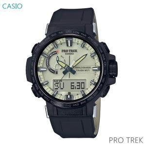 メンズ 腕時計 7年保証 送料無料 カシオ プロトレック クライマーライン ソーラー 電波 PRW-60YGE-1AJR 正規品 PRO TREK Climber Line|mcoy