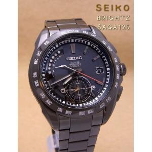【7年保証】送料無料セイコー(SEIKO)ブライツ(BRIGHTZ)【SAGA125】ソーラー電波腕時計 スター・ウォーズ コラボ限定モデル ダース・ベイダー(国内正規品)|mcoy