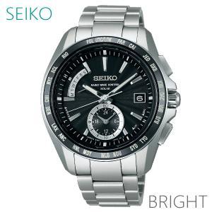 【7年保証】 ♪ セイコー ブライツ メンズソーラー電波腕時計 【SAGA159】 (正規品) SEIKO BRIGHTZ|mcoy