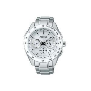 【7年保証】 セイコーブライツ クロノグラフ メンズ 男性用ソーラー電波腕時計 SAGA169 国内正規品|mcoy