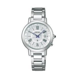 【7年保証】 セイコー ルキア  ソーラー電波 レディース 女性用  腕時計 【SSQV025】 (国内正規品)|mcoy