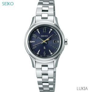レディース 腕時計 7年保証 送料無料 セイコー ルキア エターナルブルー ソーラー 電波 SSVW109 正規品|mcoy