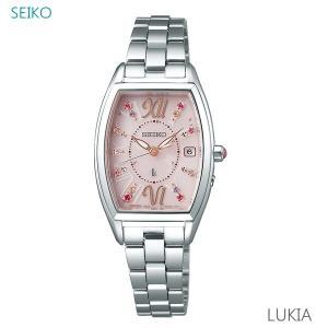 レディース 腕時計 7年保証 送料無料 セイコー ルキア ソーラー 電波 SSVW129 正規品 SEIKO LUKIA クリスマス限定モデル|mcoy