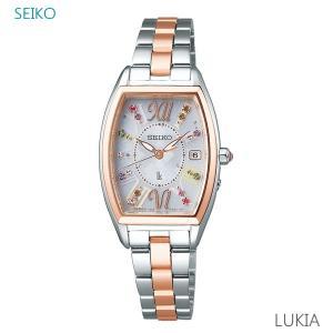 レディース 腕時計 7年保証 送料無料 セイコー ルキア ソーラー 電波 SSVW130 正規品 SEIKO LUKIA クリスマス限定モデル mcoy
