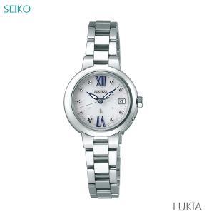 レディース 腕時計 7年保証 送料無料 セイコー ルキア ソーラー 電波 SSVW135 正規品 SEIKO LUKIA|mcoy