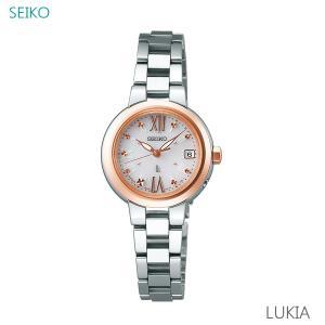 レディース 腕時計 7年保証 送料無料 セイコー ルキア ソーラー 電波 SSVW138 正規品 SEIKO LUKIA|mcoy