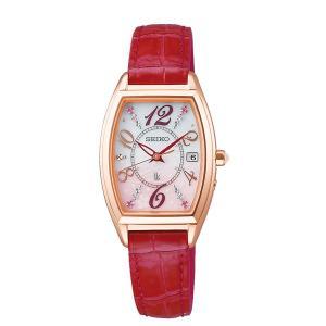 レディース 腕時計 7年保証 送料無料 セイコー ルキア ソーラー 電波 SSVW144 正規品 LUKIA SAKURA Blooming|mcoy