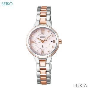 レディース 腕時計 7年保証 送料無料 セイコー ルキア ソーラー 電波 SSVW146 正規品 SEIKO LUKIA|mcoy