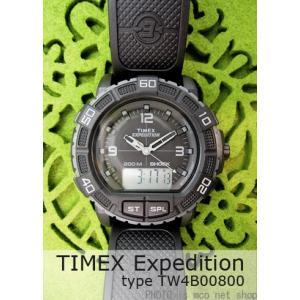 【7年保証】タイメックス エクスペディション メンズ 男性用 腕時計 【TW4B00800】 (国内正規品) TIMEX Expedition|mcoy