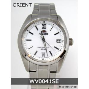 【7年保証】ORIENT (オリエント)メンズ 男性用  ソーラー電波腕時計 10気圧防水 【WV0041SE】(国内正規品)|mcoy