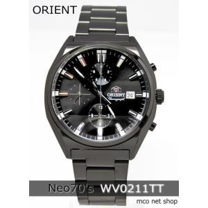 【7年保証】ORIENT(オリエント)  Neo70's (ネオセブンティーズ)クロノグラフ メンズ 男性用 腕時計【WV0211TT】(国内正規品)|mcoy