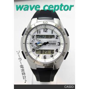 【7年保証】カシオ(CASIO) メンズ 男性用ソーラー電波腕時計 WAVE CEPTOR【WVA-M650-7AJF】 (国内正規品)|mcoy