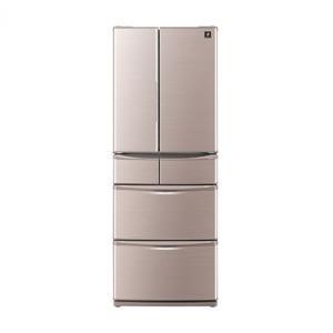 SJ-XF44B-T 冷蔵庫 430L プラズマクラスター シャープ シャイニーブラウン|mcshowa
