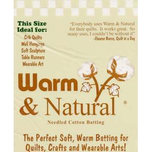 Warm&Natural キルト芯 ベビーサイズ|mcsquare