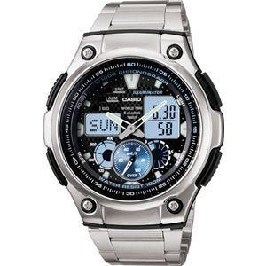 ランニングウォッチ CASIO カシオ スポーツウォッチ ランニング 10気圧防水 デジタル アナログ 腕時計 (AQ10P-7101)海外モデル マラソン ランナーズ ウォッチ