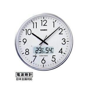 カシオ 電波時計 壁掛け時計 デジタル 掛け時計 日付 曜日 月間表示カレンダー(CL15JU47)野鳥の鳴声時報 六曜表示 温度 湿度計付き CASIO 大型液晶 電波掛時計 mdcgift