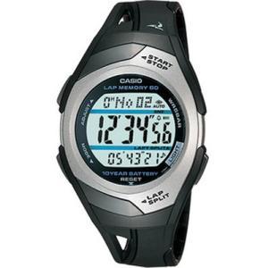 ランニングウォッチ カシオ スポーツウォッチ 5気圧防水 デジタル 腕時計(PH04OC01BKSL)走行距離計測 60ラップ CASIO マラソン ランニング ウォッチ 時計