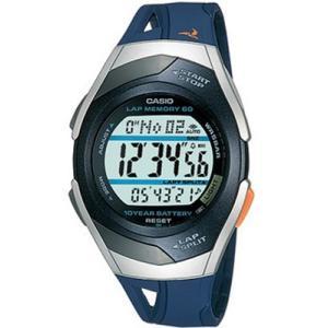 ランニングウォッチ カシオ スポーツウォッチ 5気圧防水 デジタル 腕時計(PH04OC02BUSL)走行距離計測 60ラップ CASIO マラソン ランニング ウォッチ 時計