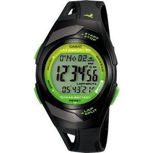 ランニングウォッチ カシオ スポーツウォッチ 5気圧防水 デジタル 腕時計(PH10DC01BKGR)走行距離計測 60ラップ CASIO マラソン ランニング ウォッチ 時計