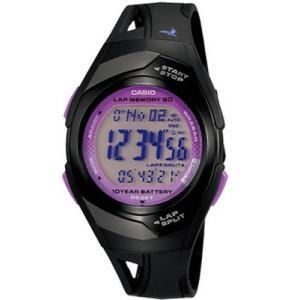 ランニングウォッチ カシオ スポーツウォッチ 5気圧防水 デジタル 腕時計(PH10DC03BKVL)走行距離計測 60ラップ CASIO マラソン ランニング ウォッチ 時計