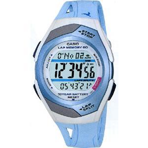 ランニングウォッチ カシオ スポーツウォッチ 5気圧防水 デジタル 腕時計(PH9SP01LBL)走行距離計測 60ラップ CASIO マラソン ランニング ウォッチ 時計