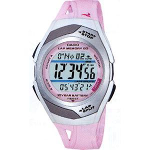 ランニングウォッチ カシオ スポーツウォッチ 5気圧防水 デジタル 腕時計(PH9SP02PNK)走行距離計測 60ラップ CASIO マラソン ランニング ウォッチ 時計