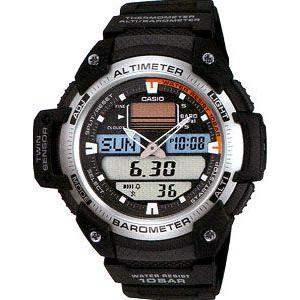 カシオ スポーツウォッチ 10気圧防水 デジタル アナログ 腕時計(SPR11FB02) 気圧計 高度計 温度計 ELライト付き CASIO マラソン ランニング ウォッチ 時計 mdcgift