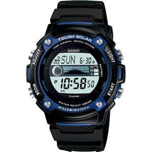 カシオ スポーツウォッチ 10気圧防水 タイドグラフ 月齢 ムーンデータ ソーラー デジタル 腕時計(W-S210H-1AJF海外版)マリンスポーツ ランニングウォッチ|mdcgift