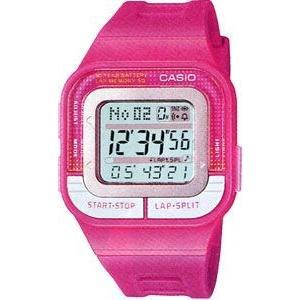 ランニングウォッチ CASIO カシオ スポーツウォッチ ランニング 5気圧防水 レディース デジタル 腕時計(SD11FBP-204PNK海外版)マラソン ランナーズ ウォッチ
