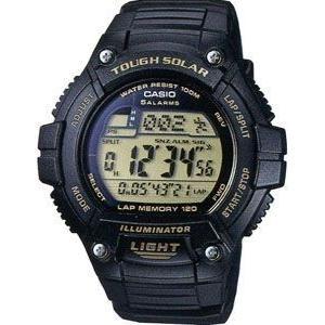 カシオ スポーツウォッチ 10気圧防水 ソーラー デジタル 腕時計(WSD11OC07)LEDライト 1/100秒ストップウォッチ 120ラップ マラソン ランニング ウォッチ 時計