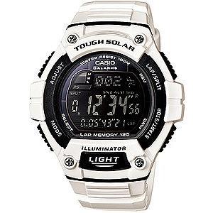 ランニングウォッチ CASIO カシオ スポーツウォッチ ランニング 10気圧防水 ソーラー 腕時計 (WSD13AUP-703WHT)海外モデル マラソン ランナーズ ウォッチ