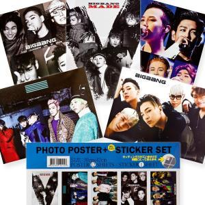 BIGBANG ビックバン 「 ポスター 12枚+ステッカー1枚セット / A3サイズ 」|mdclub