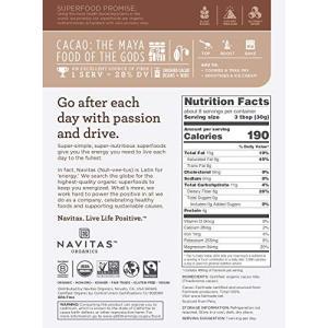 Navitas Naturals Organic Raw Cacao Nibs, 8-Ounce P...