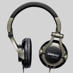 Shure srh550djプロフェッショナル品質DJヘッドフォン