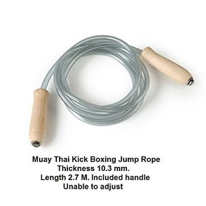 Muay Thai Kick Boxing Gear Mma Plastic Jump Skippi...