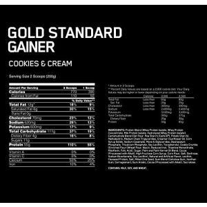 ゴールドスタンダード ゲイナー 10LB クッキークリーム (Gold Standard Gaine...