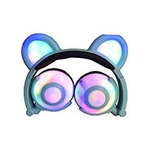 お好きな音楽をお一人で、または、猫の耳形のスピーカーで友人とシェアしましょう。オーバーイヤークッショ...