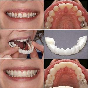 ベニアの歯、化粧用の歯3ピース -