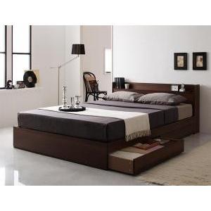 ベッド ダブル マットレス付き 収納付き 収納 サイズ 安い おしゃれ ベッドフレーム ダブルベッド 木製 ローベッド ベット ダブルベット 収納つき|mdmoko
