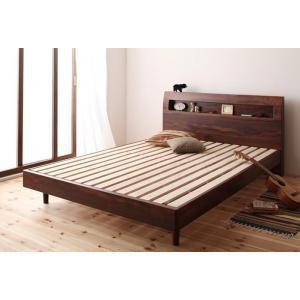 すのこベッド ダブル ベッド コンセント フレームのみ ダブ|mdmoko