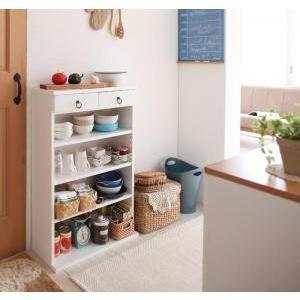 食器棚 キッチンラック 収納 奥行24cm スリム設計 薄型|mdmoko