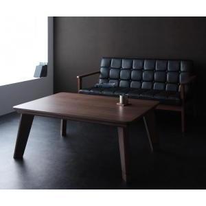 モダンデザインフラットヒーターこたつテーブル Valeri|mdmoko