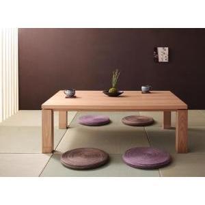 天然木アッシュ材 和モダンデザインこたつテーブル CALOR|mdmoko