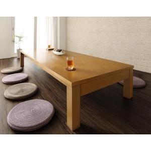 3段階伸長式 天然木折れ脚エクステンションリビングテーブル|mdmoko