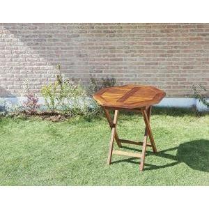 チーク天然木 折りたたみ式本格派リビングガーデンファニチャー|mdmoko