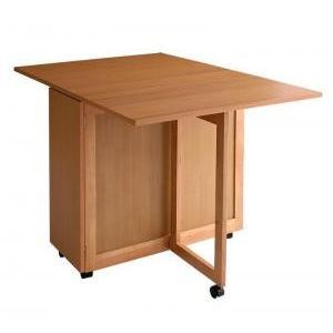 天然木バタフライ伸長式収納ダイニング  バタフライテーブル|mdmoko