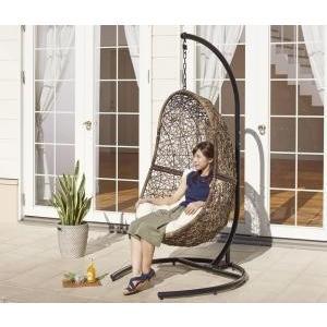 椅子 いす イス チェア チェアー ラタン調 自立式 ハンギ|mdmoko