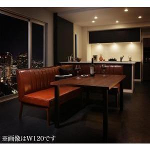 ダイニングテーブル 3点セット(テーブル+ソファ1脚+アームソファ1脚) 右アーム W150|mdmoko
