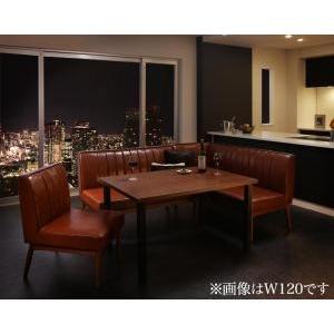 ダイニングテーブル 4点セット(テーブル+ソファ1脚+アームソファ1脚+チェア1脚) 右アーム W150|mdmoko