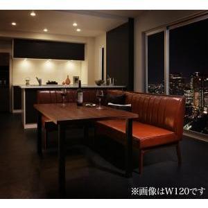 ダイニングテーブル 3点セット(テーブル+ソファ1脚+アームソファ1脚) 左アーム W150|mdmoko